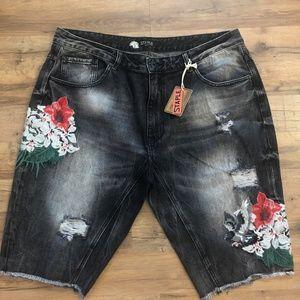 Other - STAPLE denim shorts